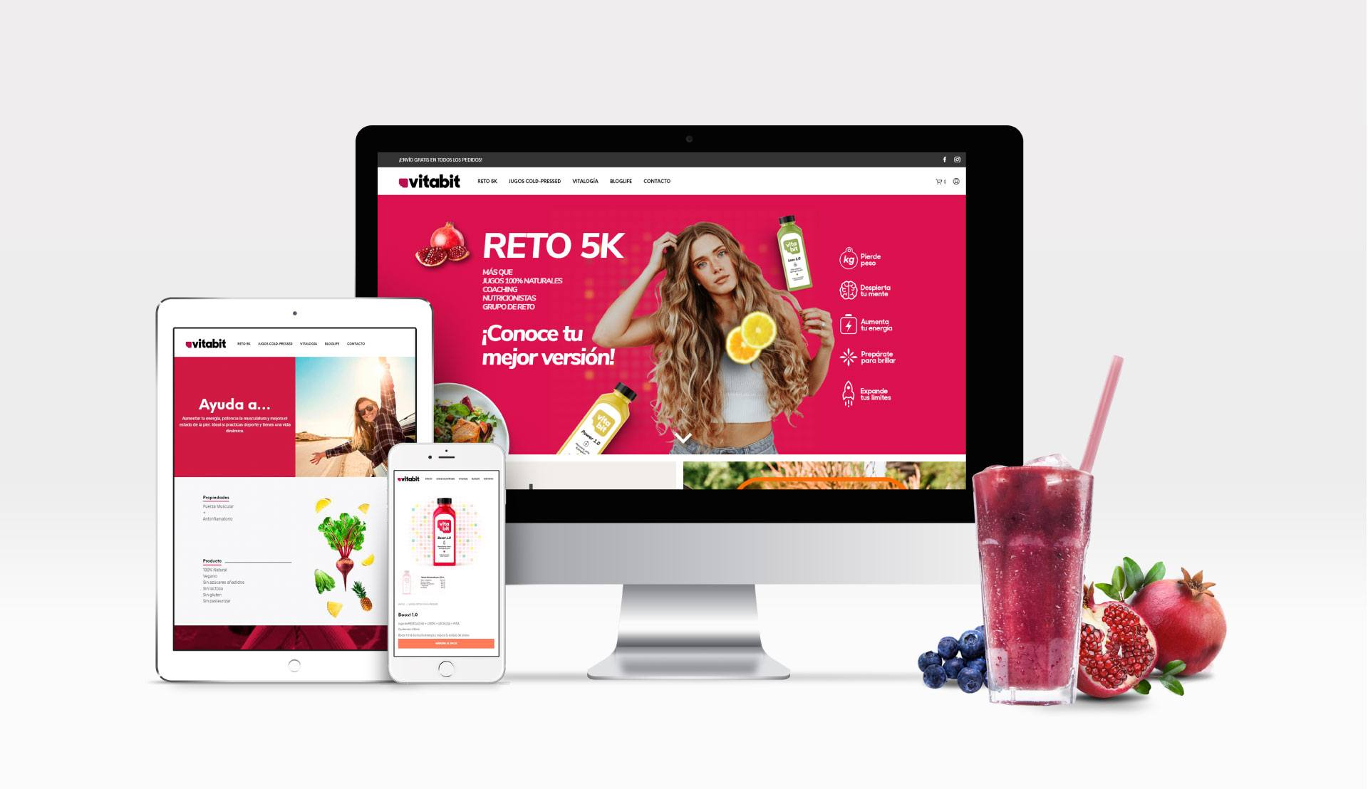 identidad marca diseño web vita 9